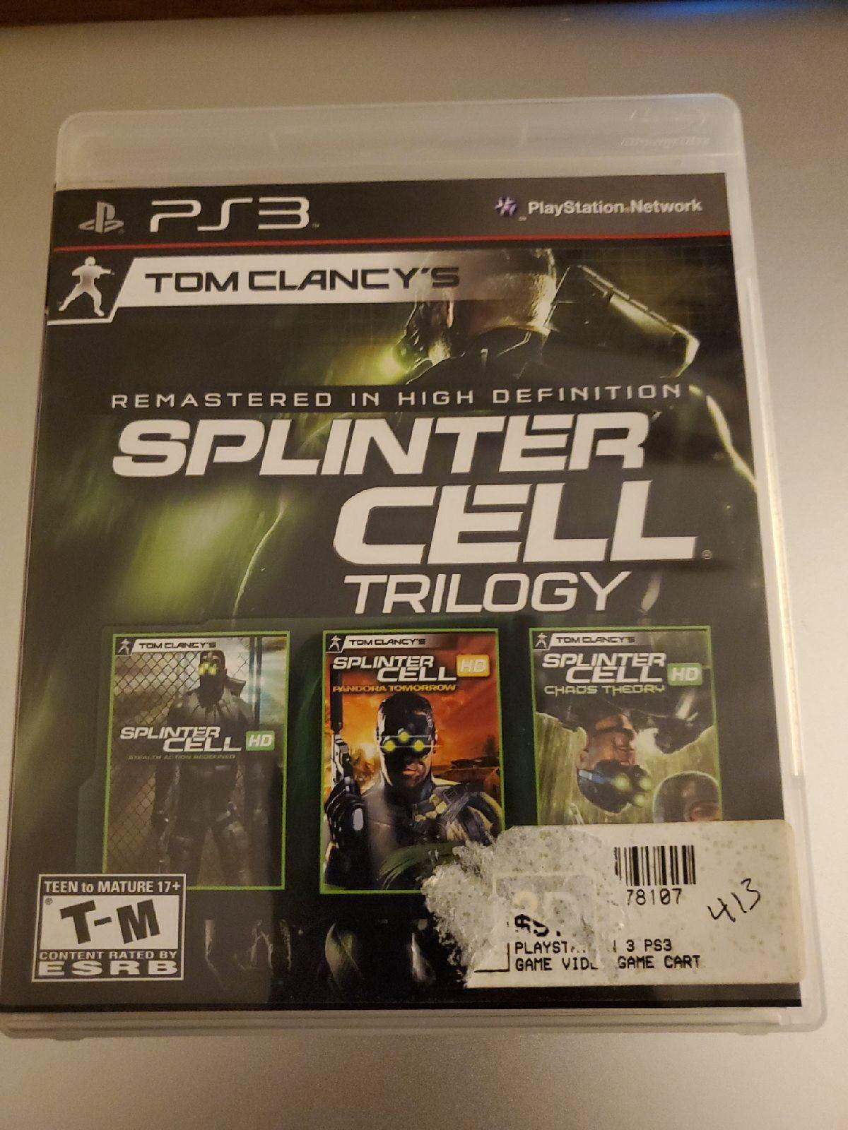 Splinter Cell Trioolgy Game