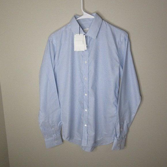 Sandro Paris Oxford button front shirt
