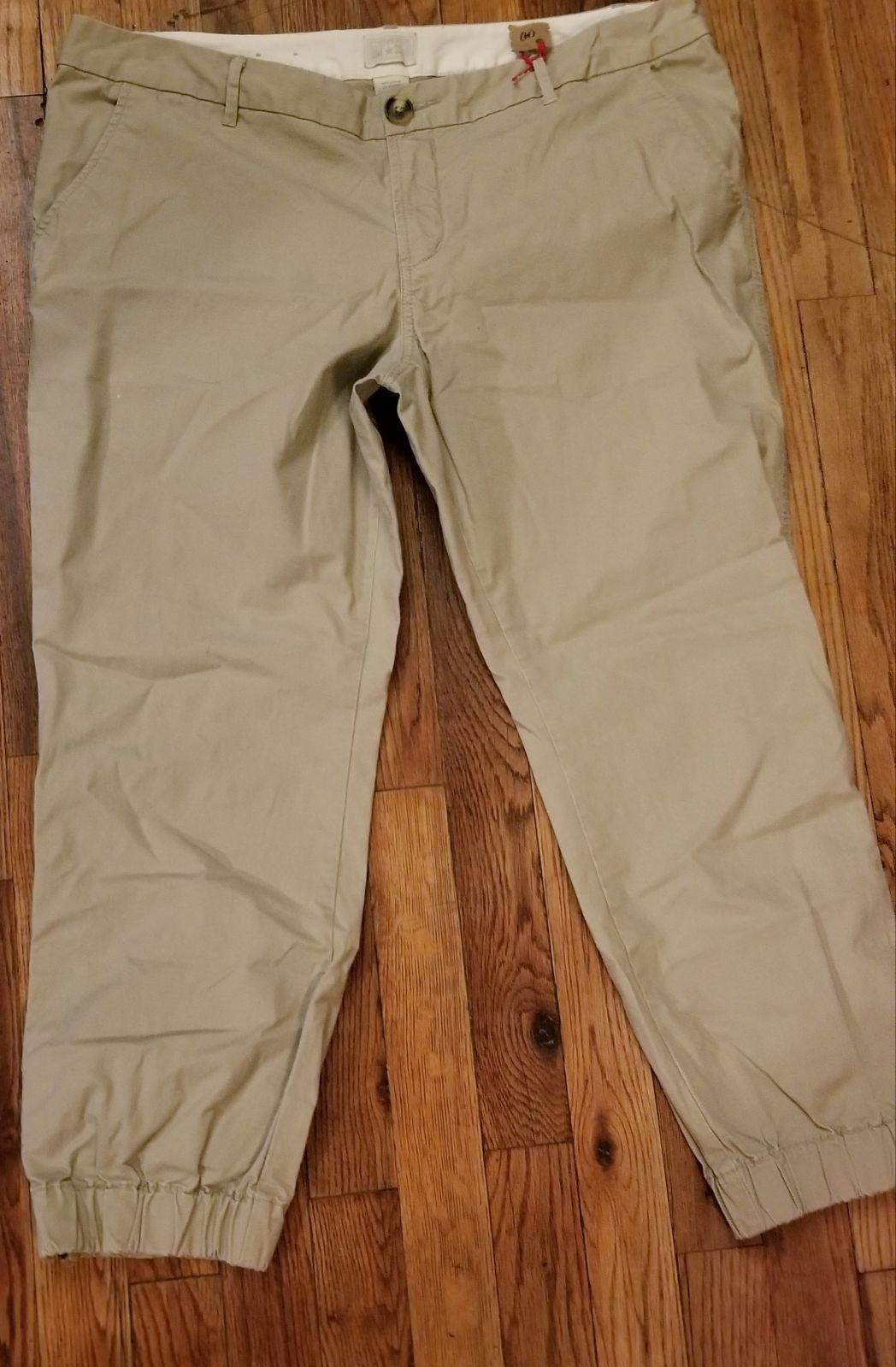 Womens CONVERSE Khaki  Pants  14/ LARGE