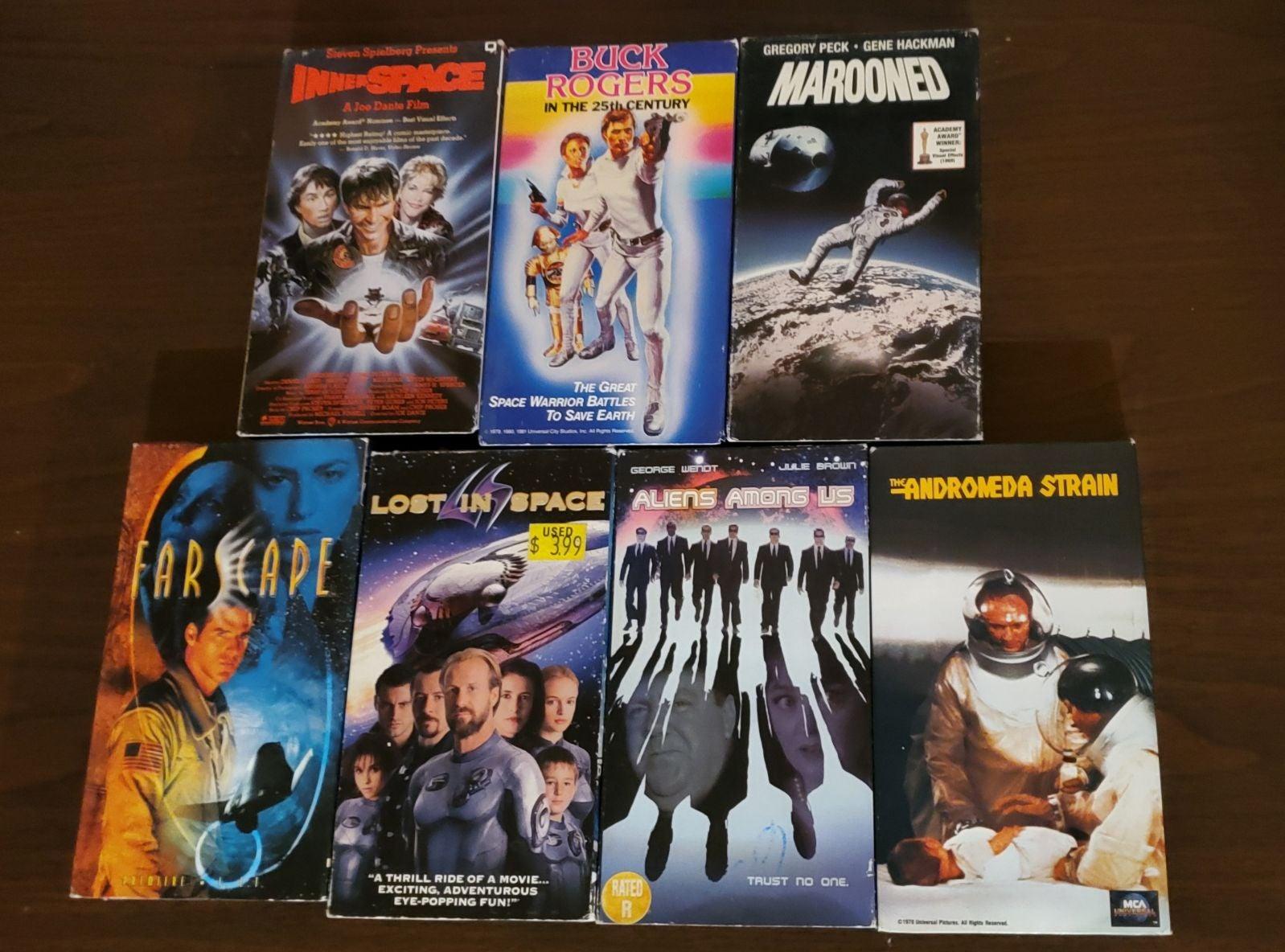 Sci Fi VHS lot Aliens Among Us Farscape