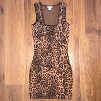 05dbea2d77dc Leopard Dress Bodycon Mini