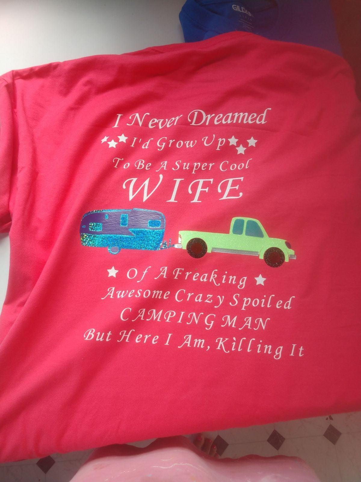 Couples Camping Shirts.