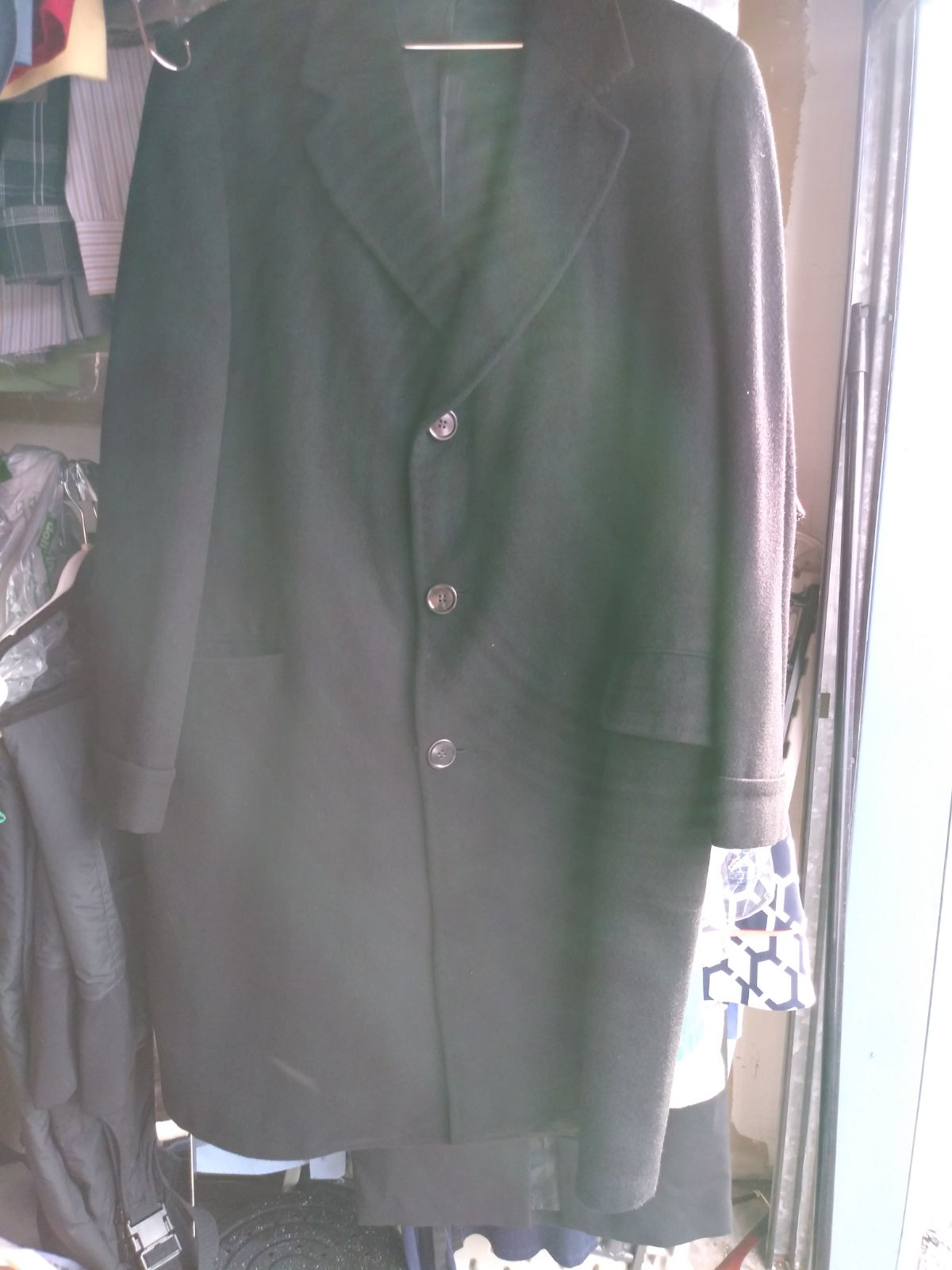 Custom Tailored Chamel Hair Coat Sz. 42