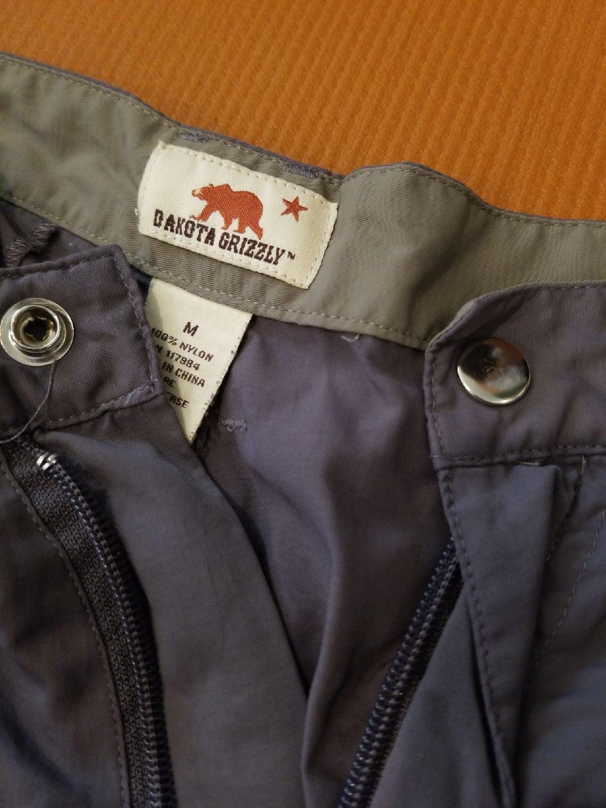 Convertible to shorts, men's hiking pant