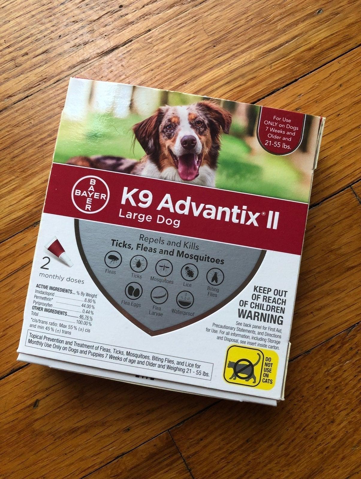 Bayer K9-Advantix ll (Large Dog)