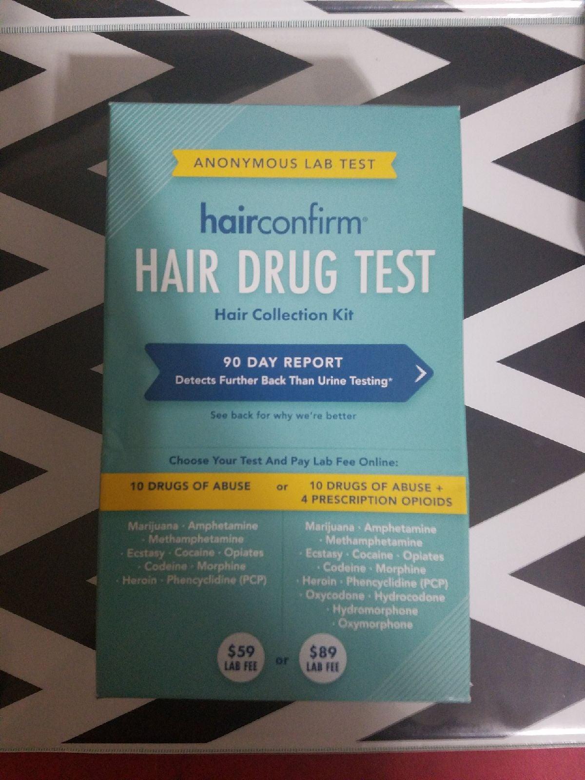 Hairconfirm Hair Drug Test 90 Day Report