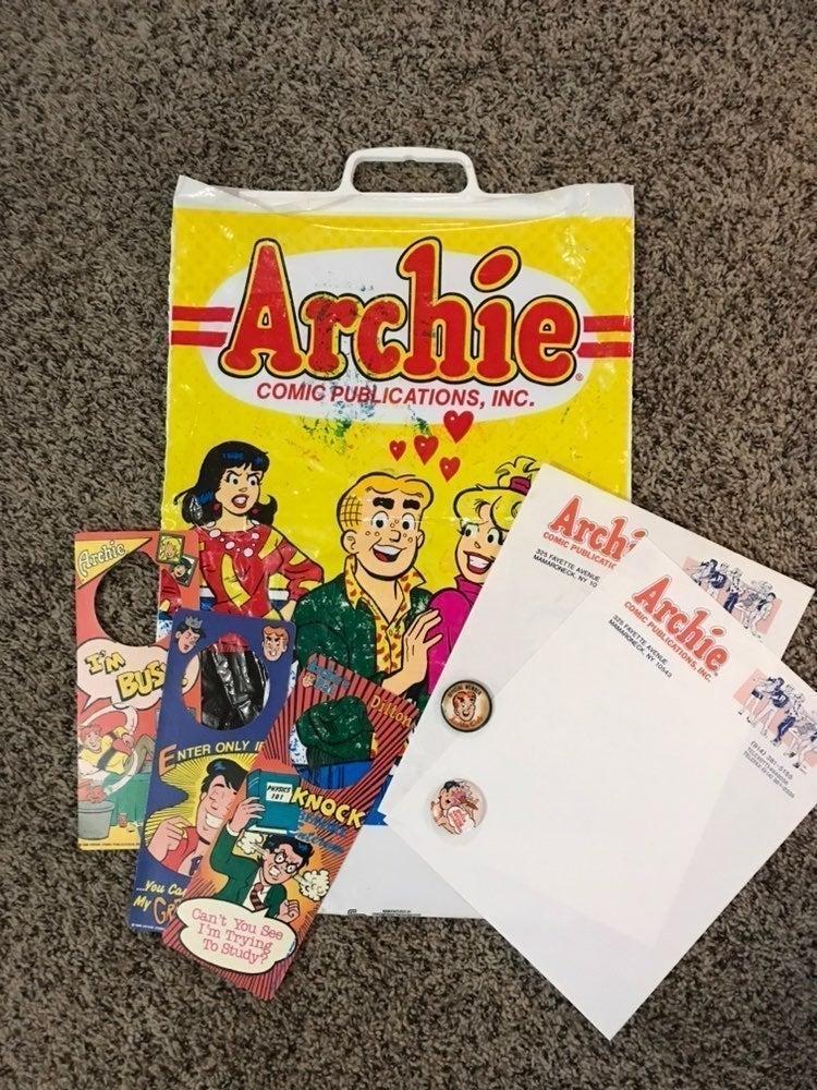 Lot of 8 Vintage Archie Comics Merch