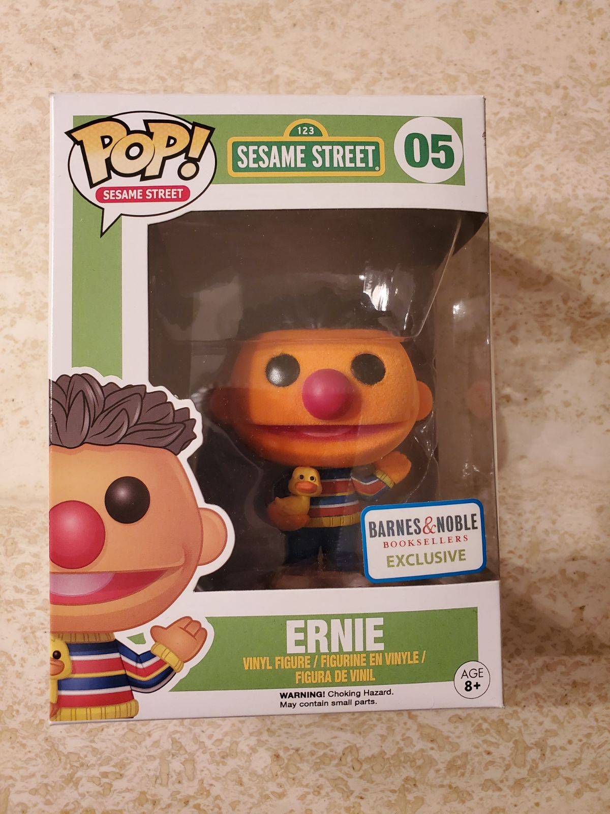 Ernie Flocked Funko Pop
