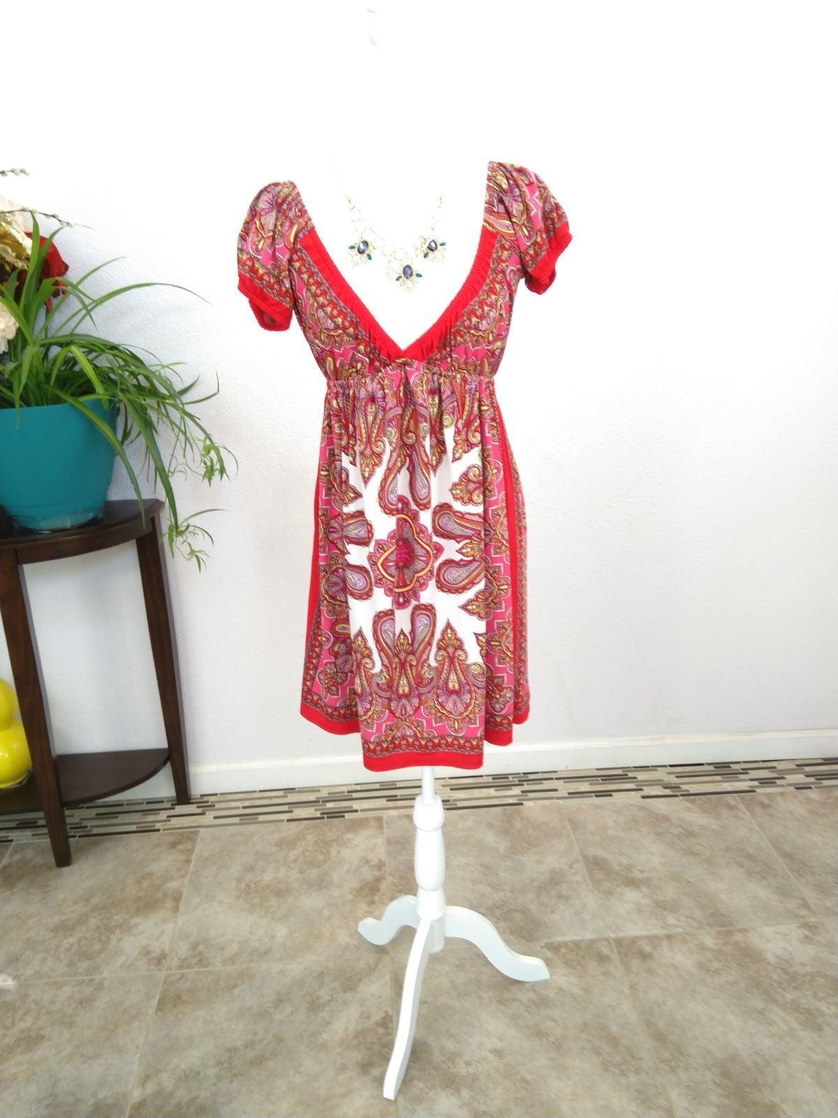 Bailey blue midi dress size medium