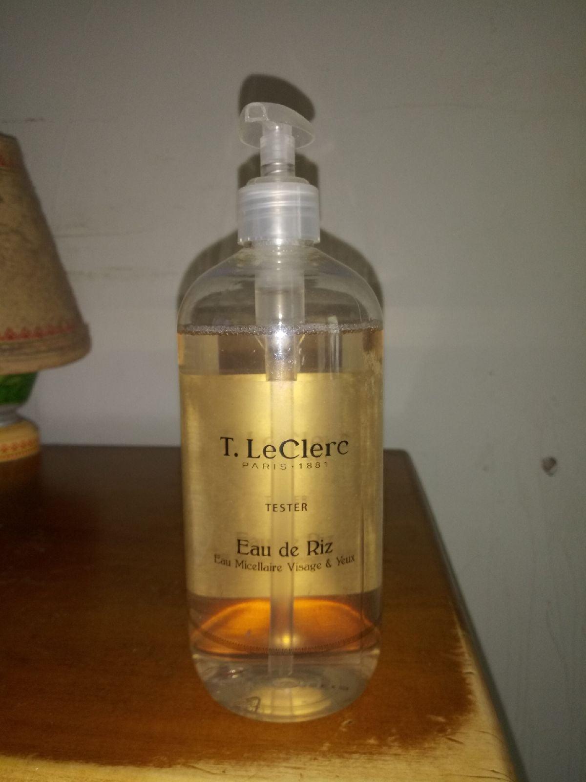 T. LeClerc Eau De Riz Facial Cleanser