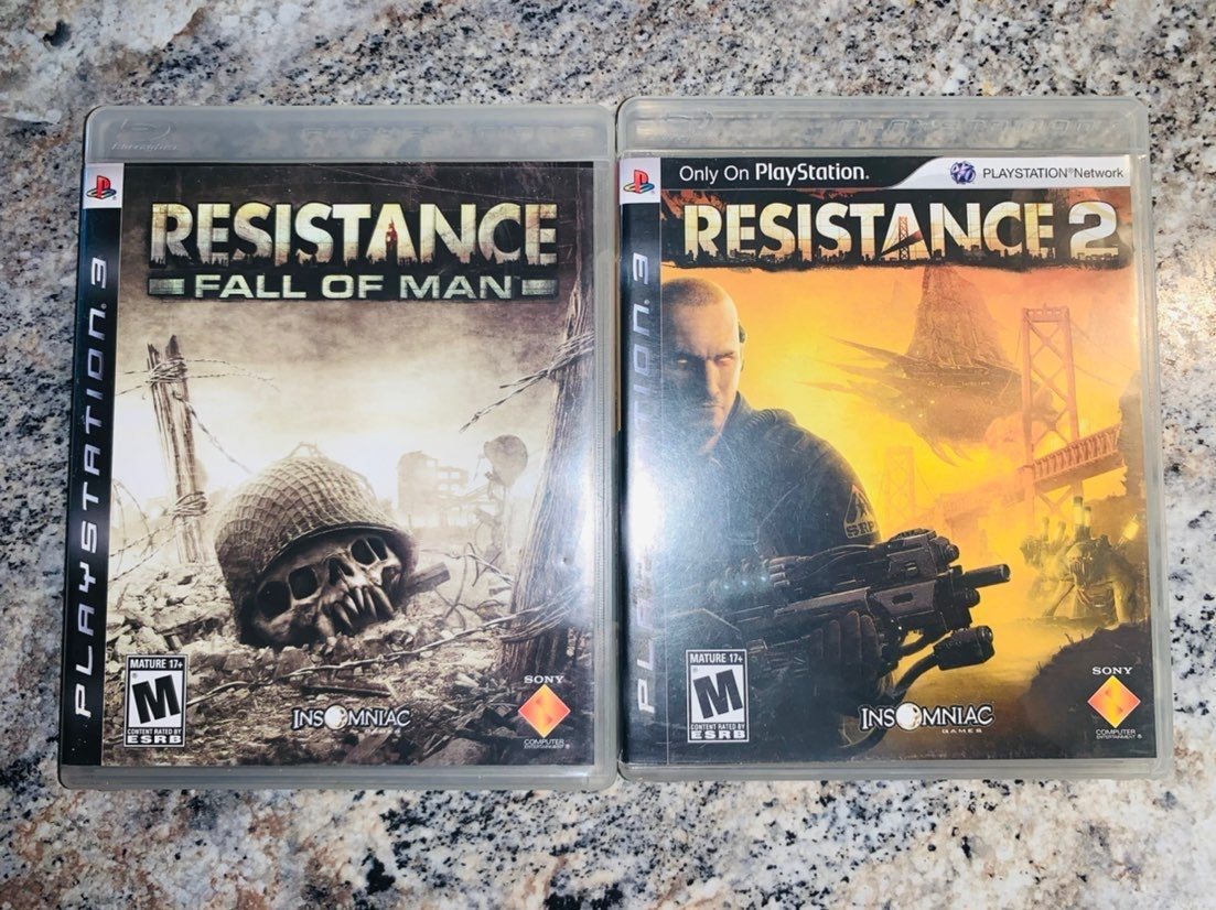 Resistance: Fall Of Man & Pt.2 On PS3