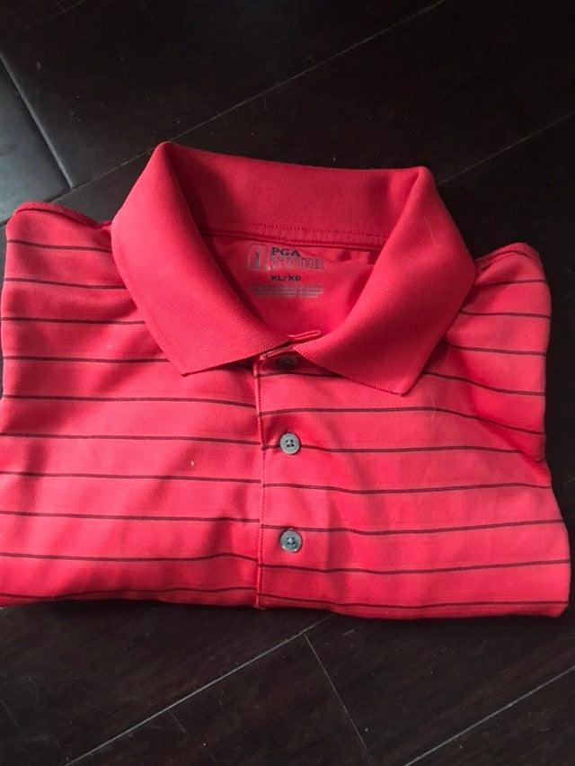 Polo Shirt PGA Tour Golf Mens Size XL