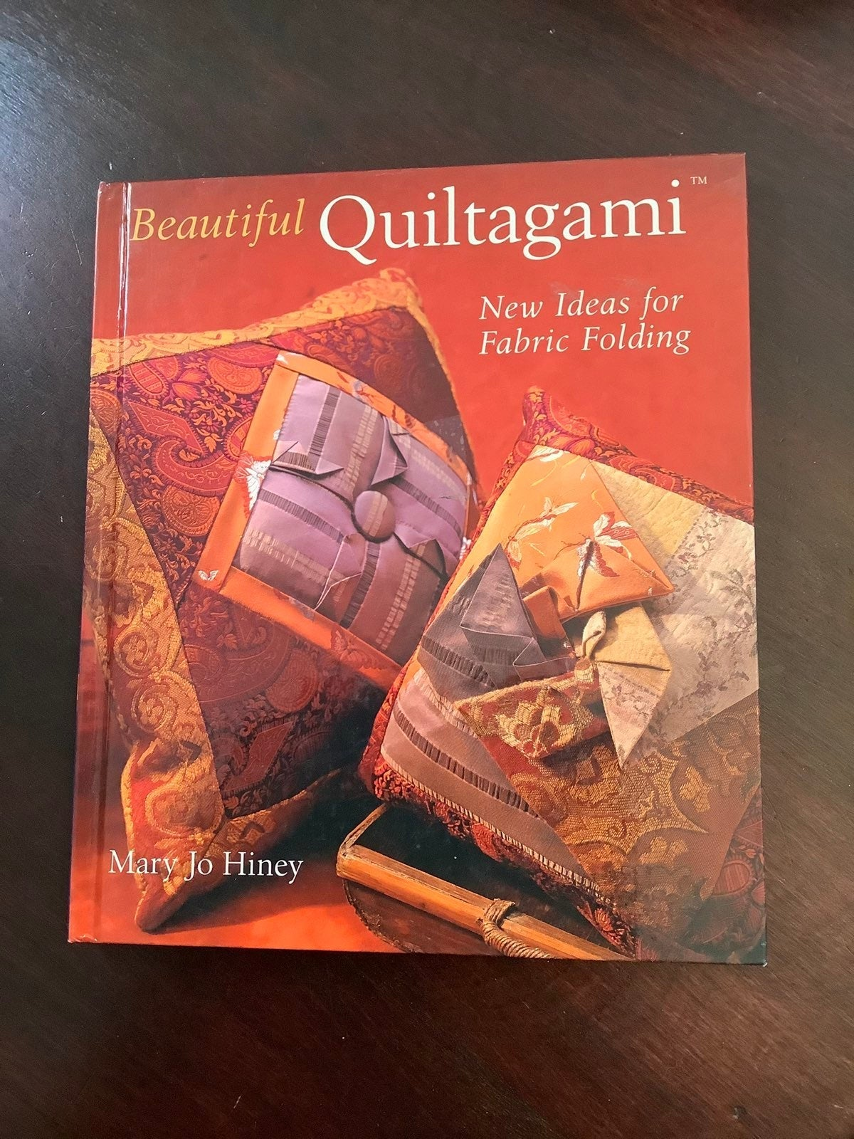 Beautiful Quiltagami Hard  Cover Book