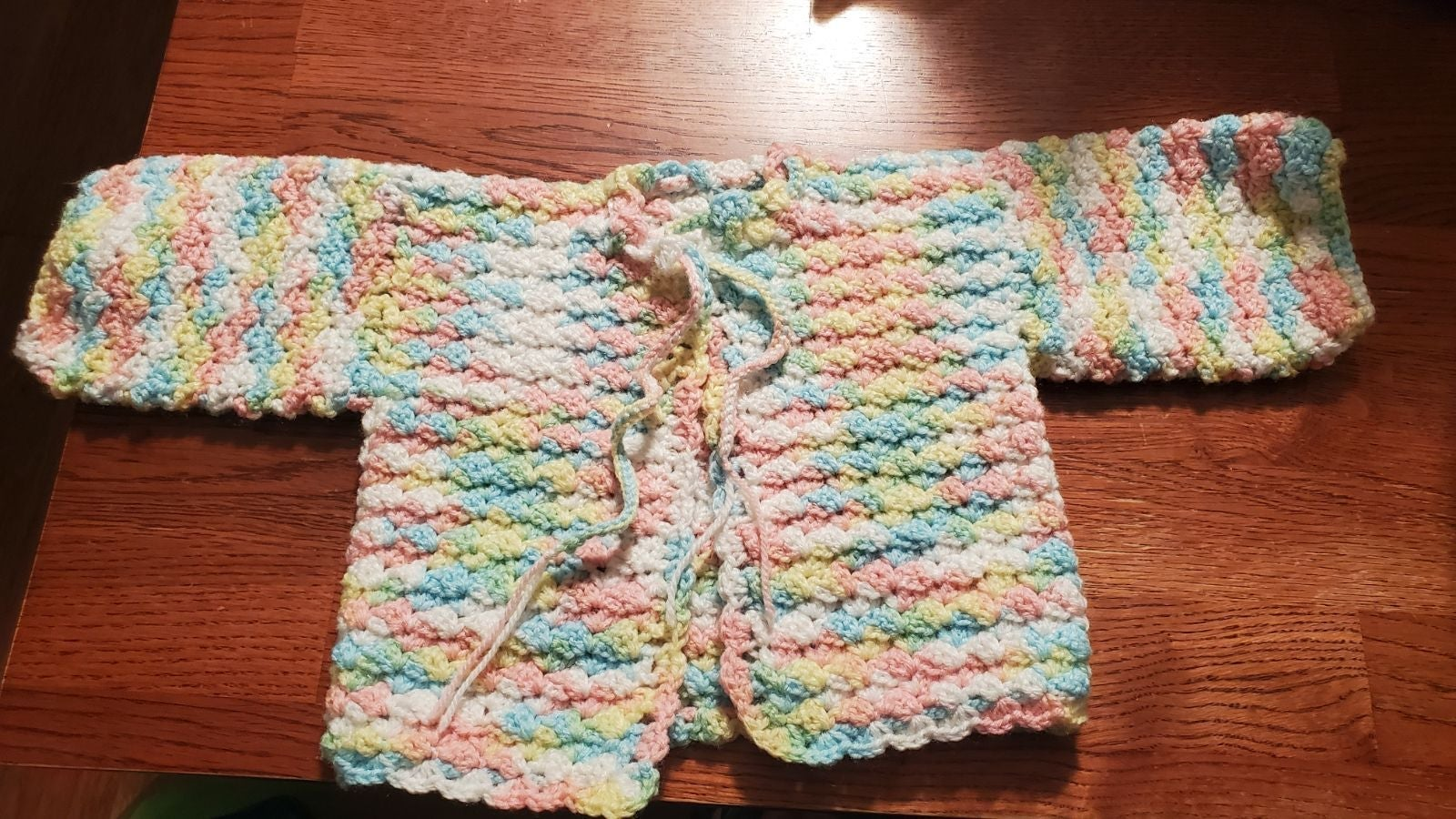 Beautiful Baby Multi Color Knitted Sweat