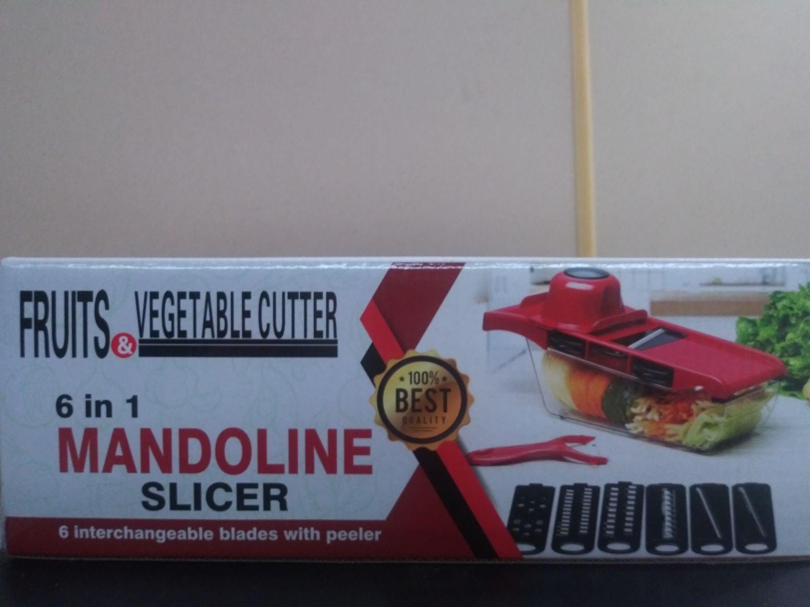 6 in 1 Mandoline Slicer