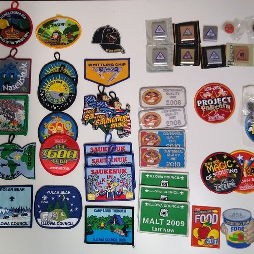 BOY SCOUT patches and pins lot 2008-11