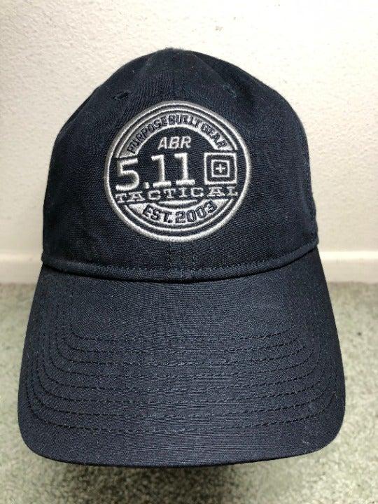 5.11 TACTICAL BLACK ADJUSTABLE HAT/CAP