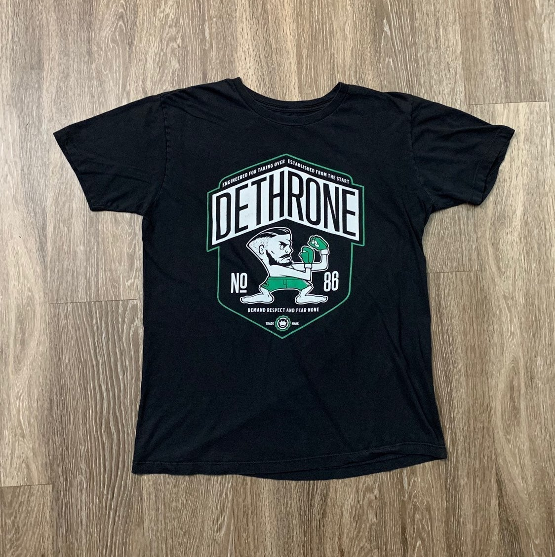 Dethrone Large Notorious Conner T-Shirt