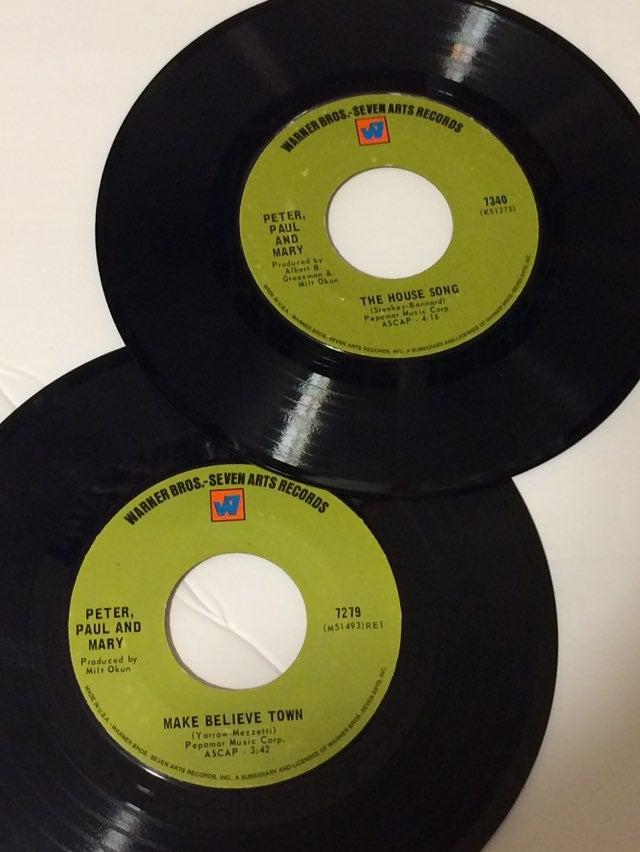 45 RPM Vinyl - Peter Paul & Mary