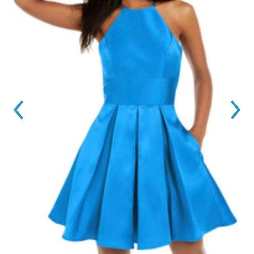 B. Darlin High Neck Mini Dress