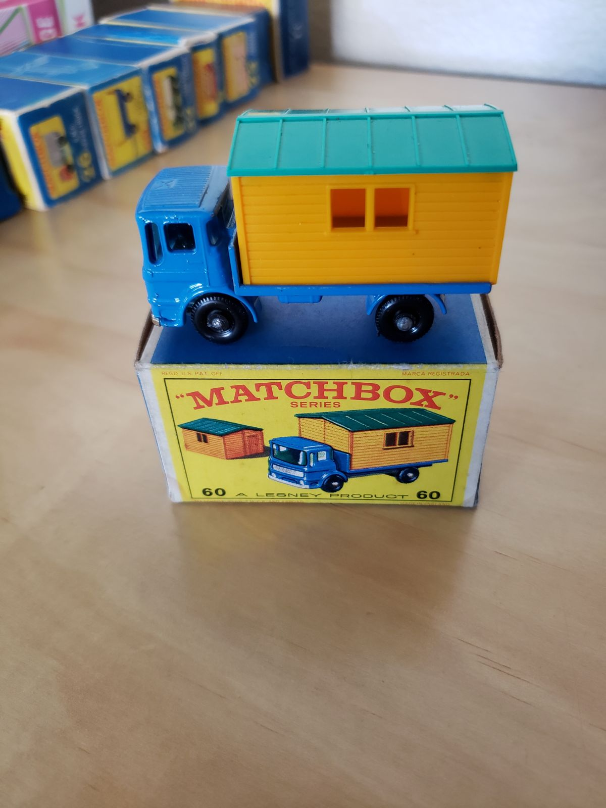 Matchbox Car Truck with Office