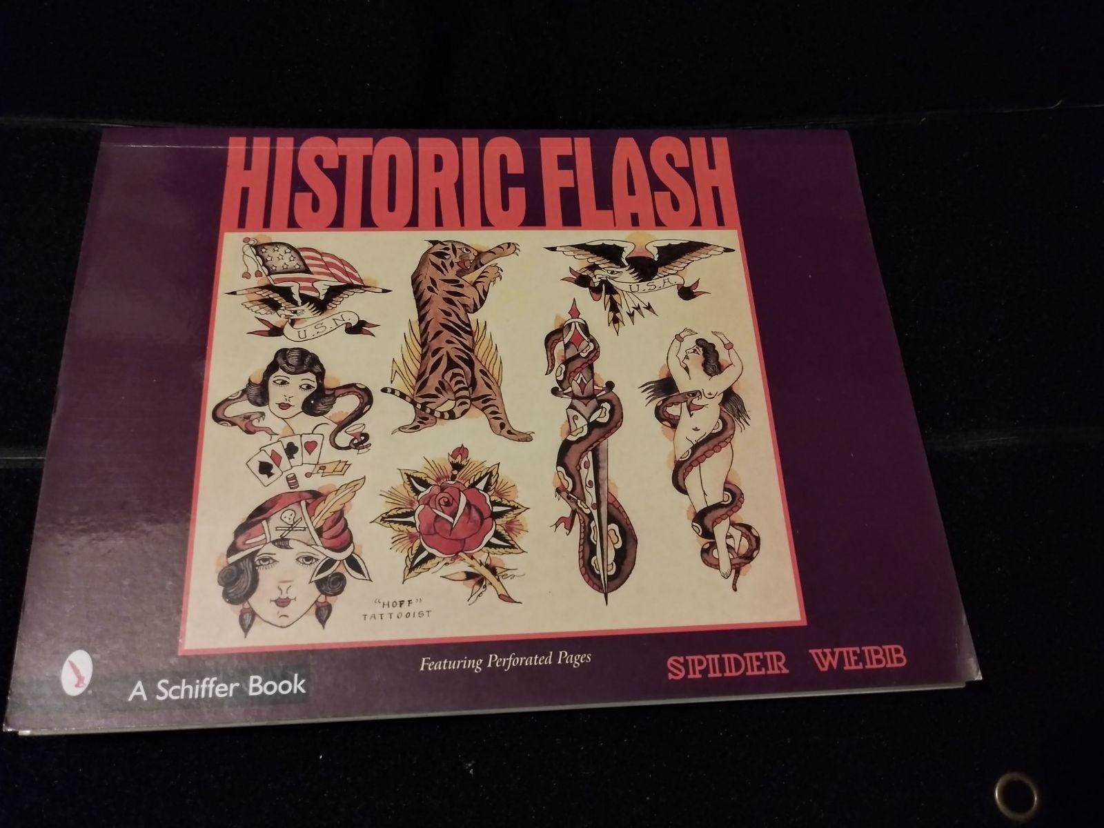 Historic Flash Tattoo Artwork Book