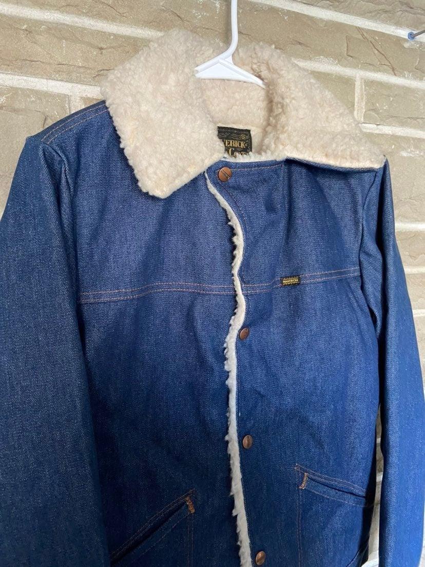 VTG MAVERICK Blue Denim Jacket