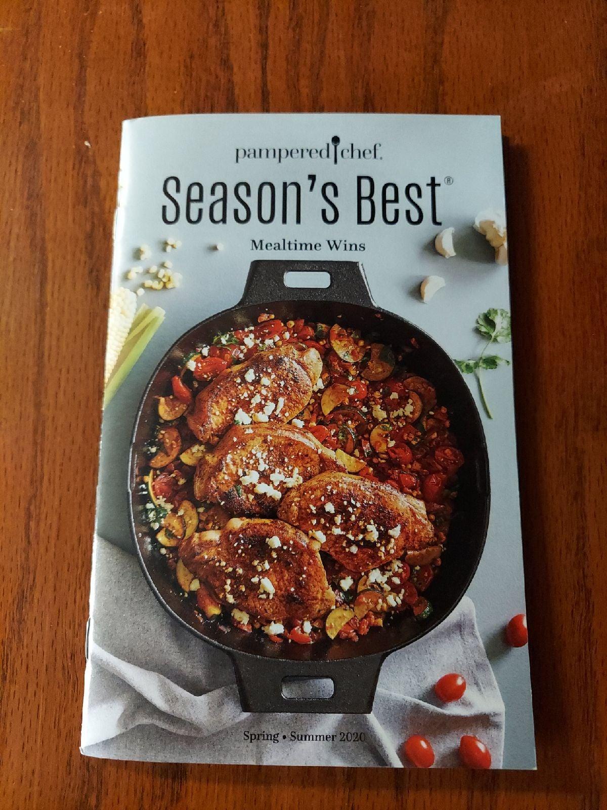 Pampered Chef Season's Best Cookbook