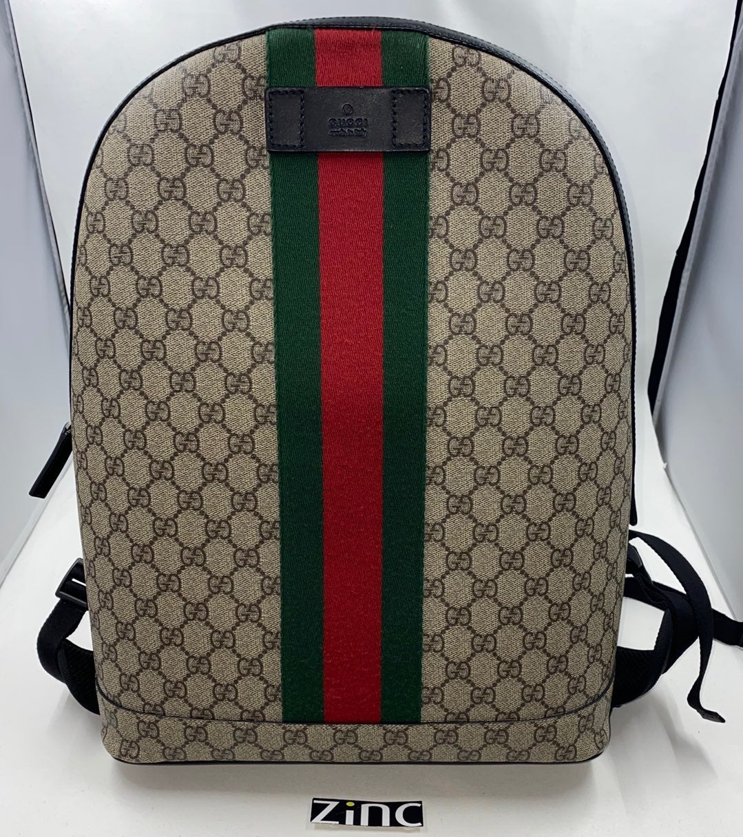 GUCCI GG Supreme Web Backpack