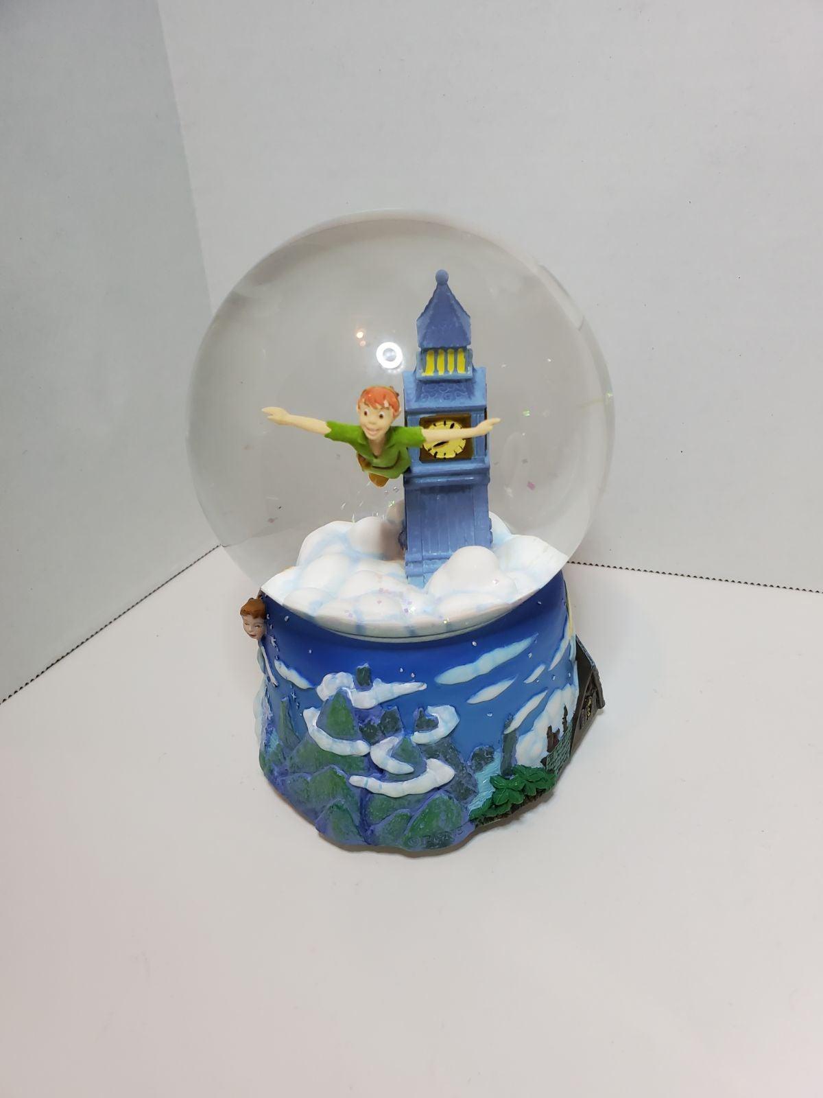 Peter pan snowglobe