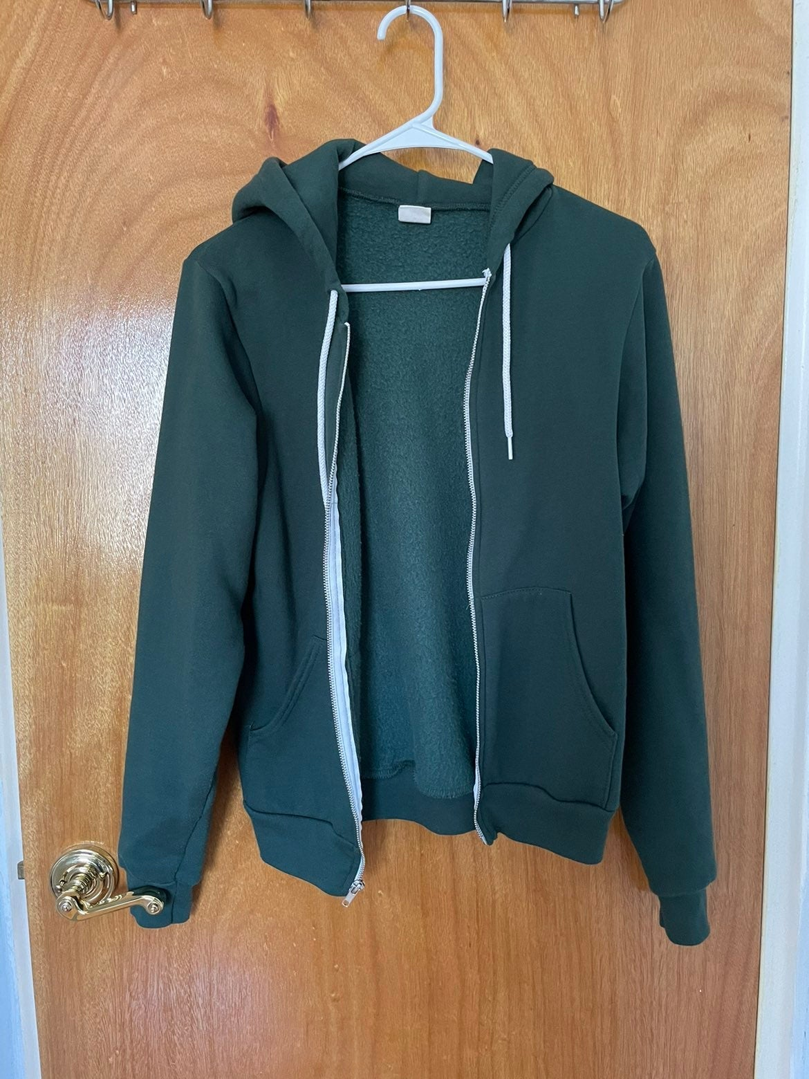 Forest Green American Apparel Hoodie