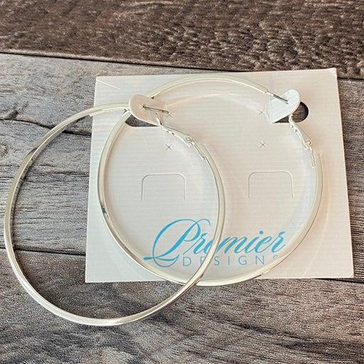 Premier Designs Large sleek hoop earrings