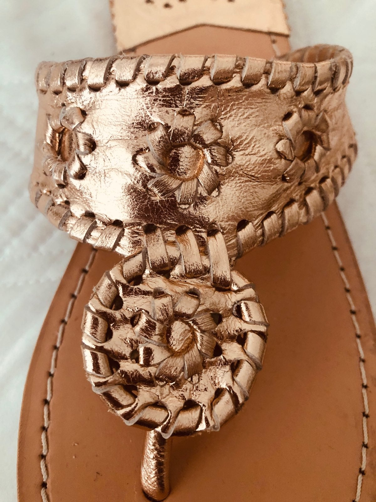 Palm Beach handcrafted sandal Size 7