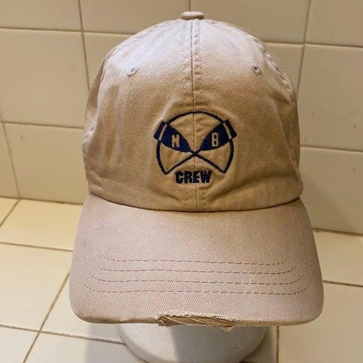 No boundaries baseball style hat distres