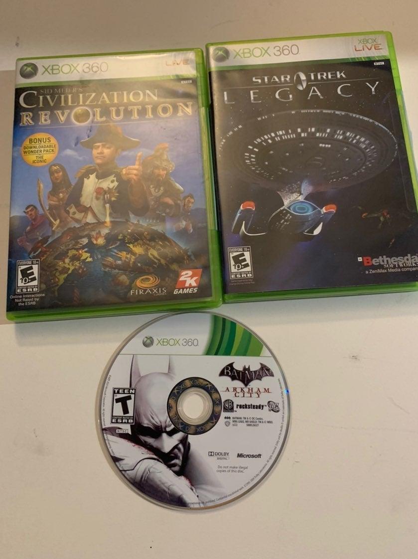 Xbox 360 Games Star Trek, Arkham City