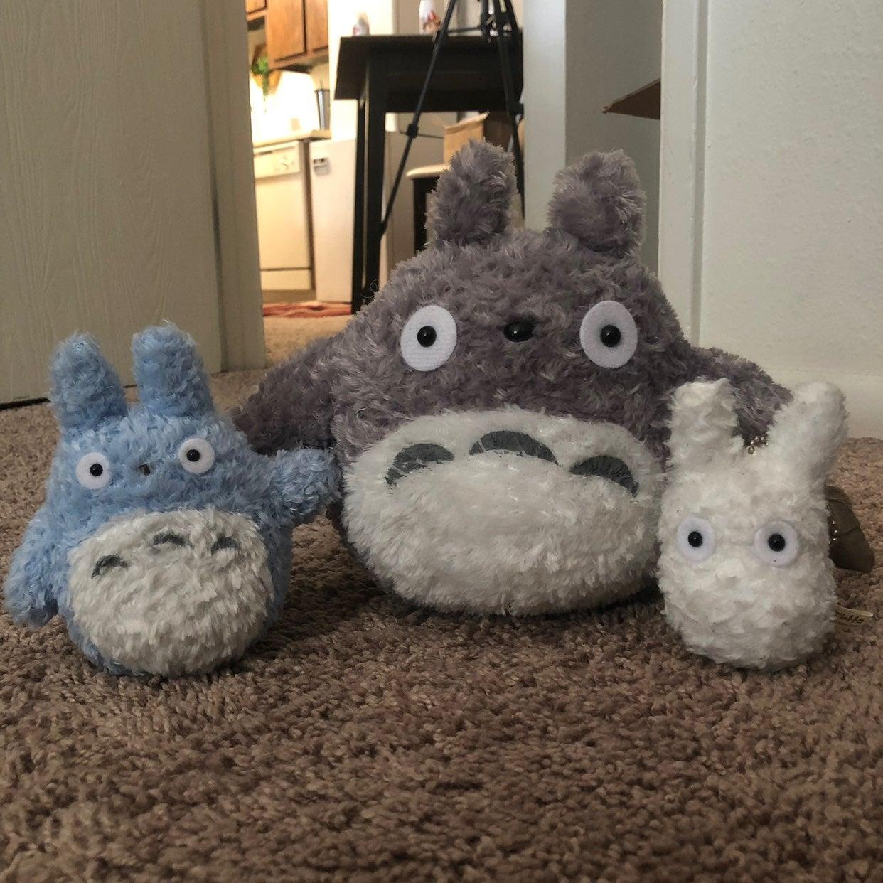 Totoro Plush Set of 3