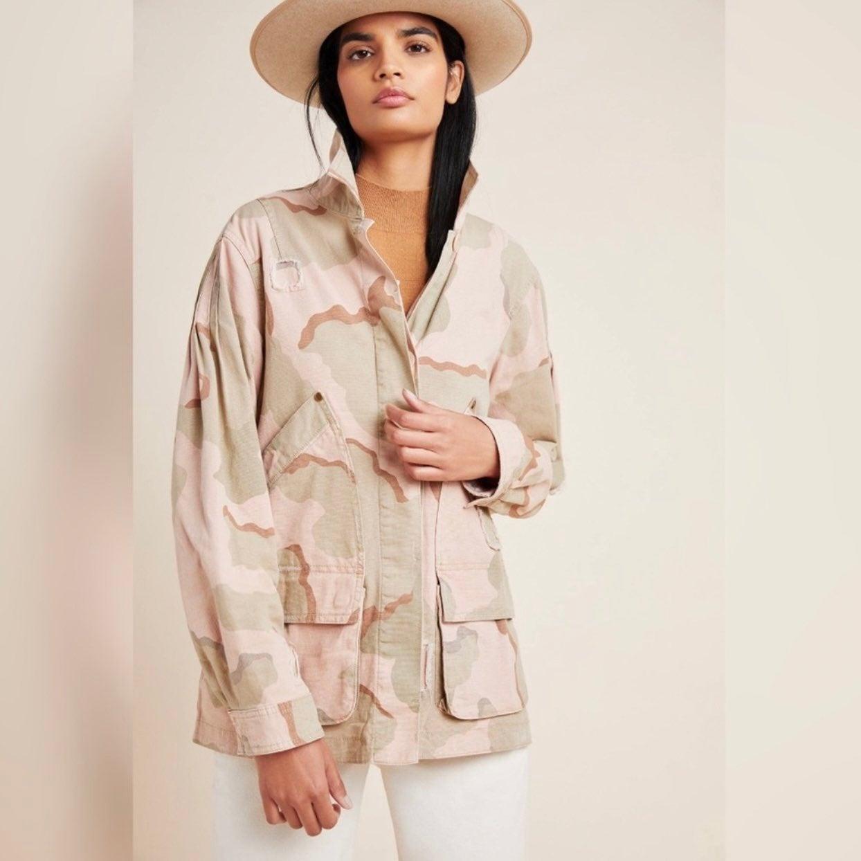 Anthropologie Lida Utility Jacket