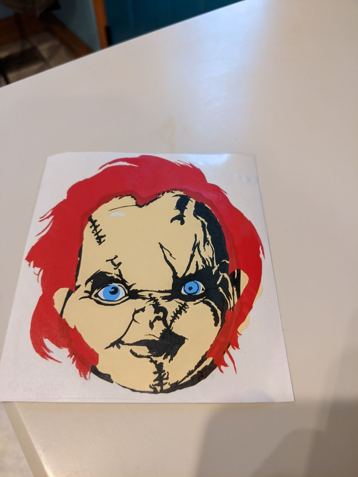 Child's play vinyl decal