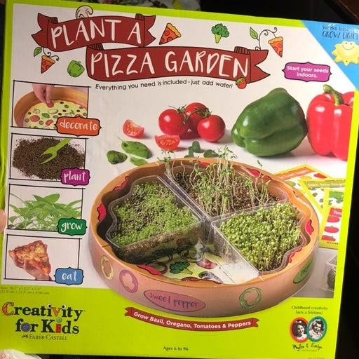 Plant a Pizza Garden Ages 6+