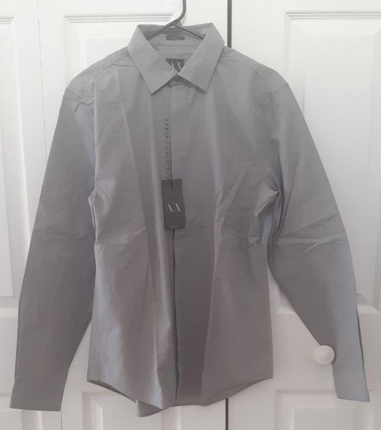 Armani exchange button up shirt