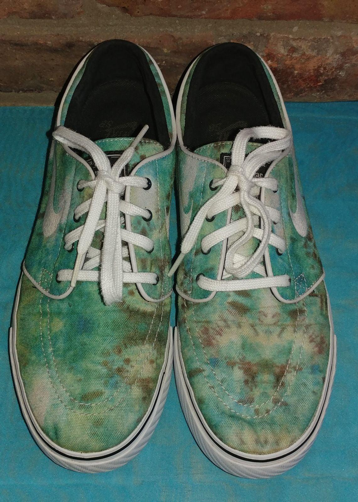 Nike Stephan Janoski Tie Dye Shoes 8.5