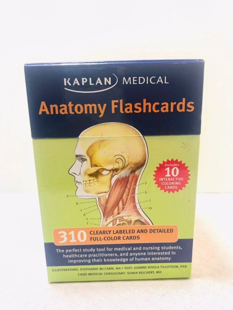 Kaplan Medical Anatomy Flashcards