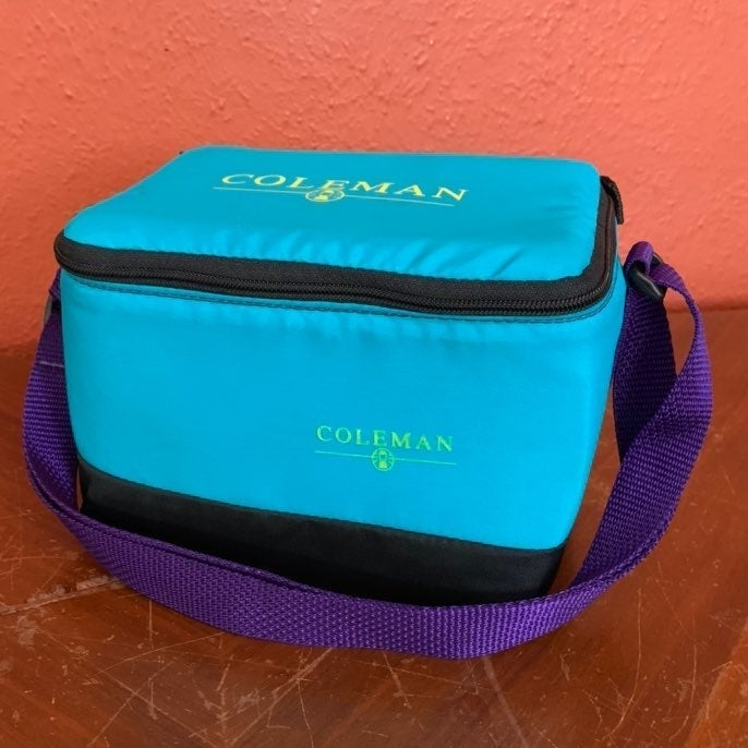 Vintage Coleman Insulated Lunch Box