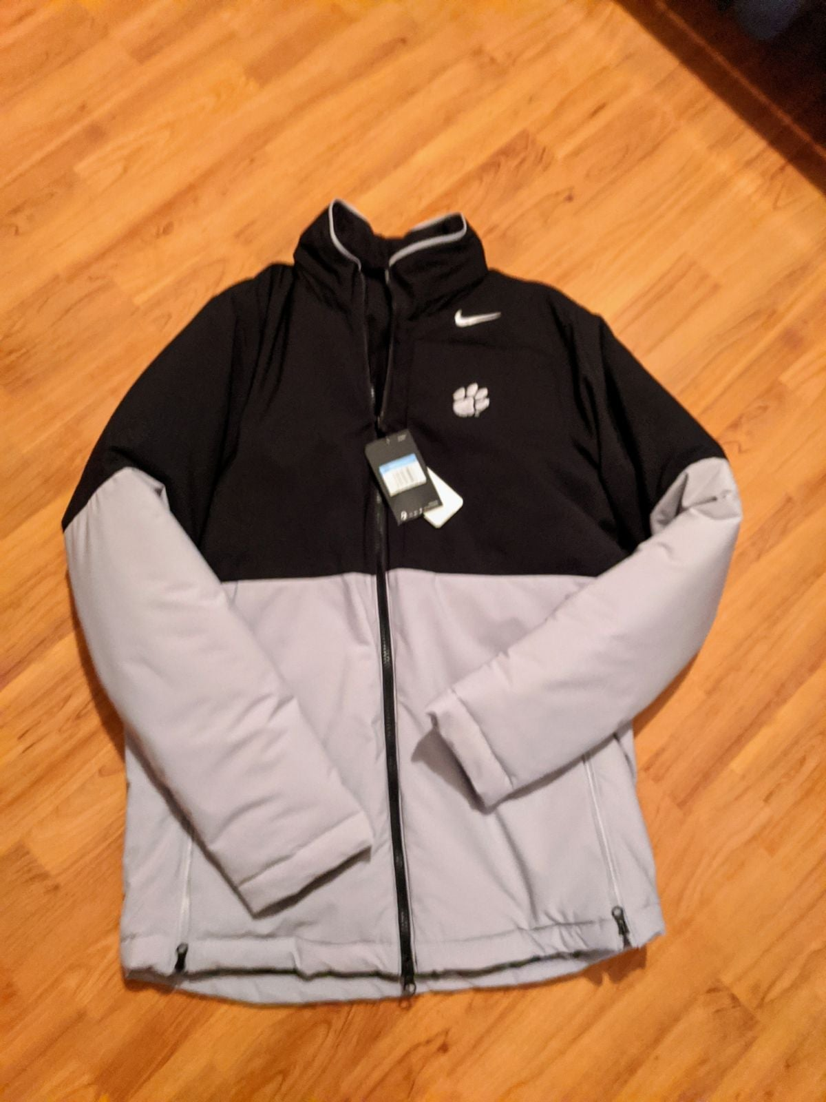 Men's Nike Clemson winter coat size medi
