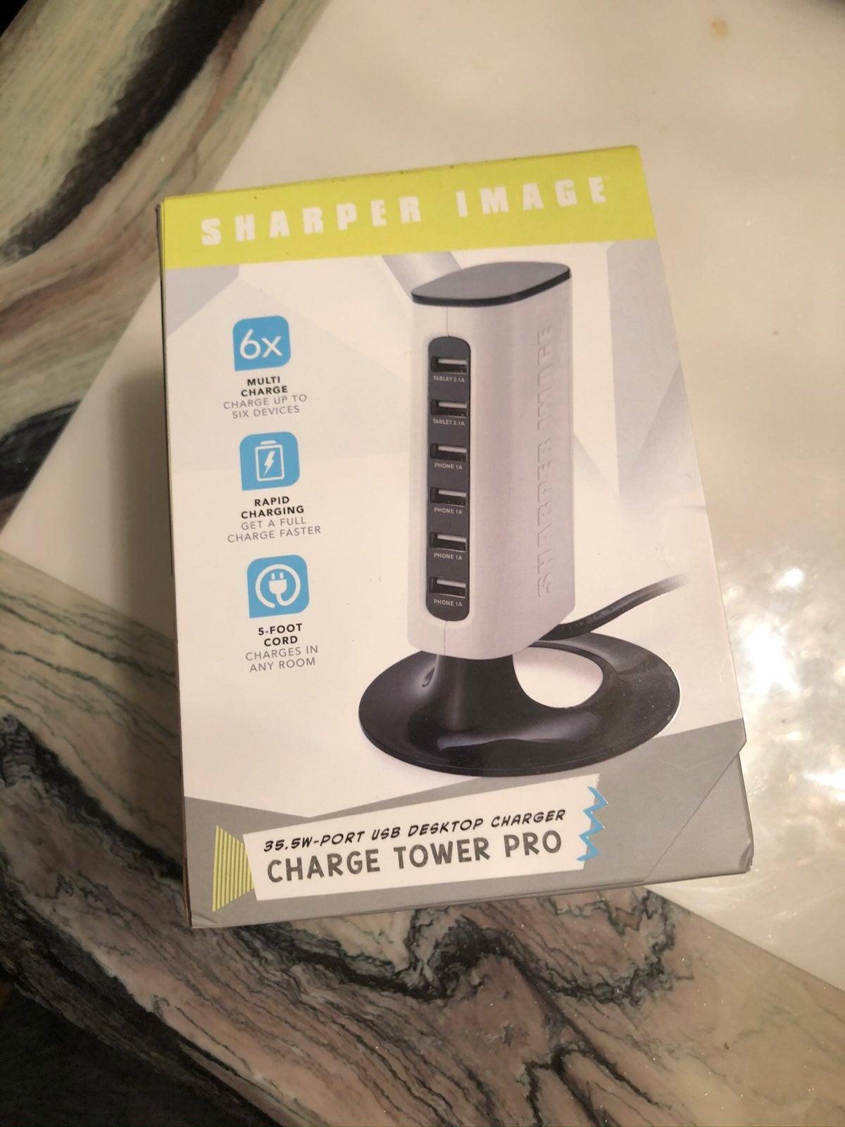 NEW 6 port desktop charger
