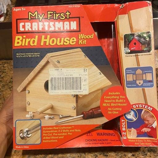 My first craftsman bird house