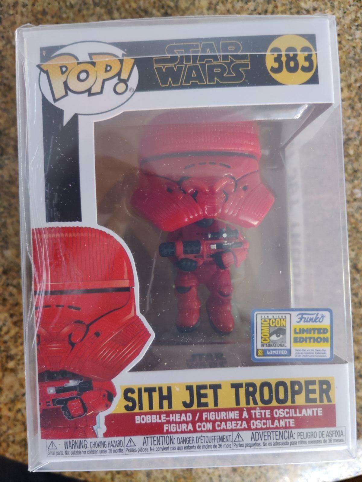 Funko Pop Sith Jet Trooper SDCC Sticker