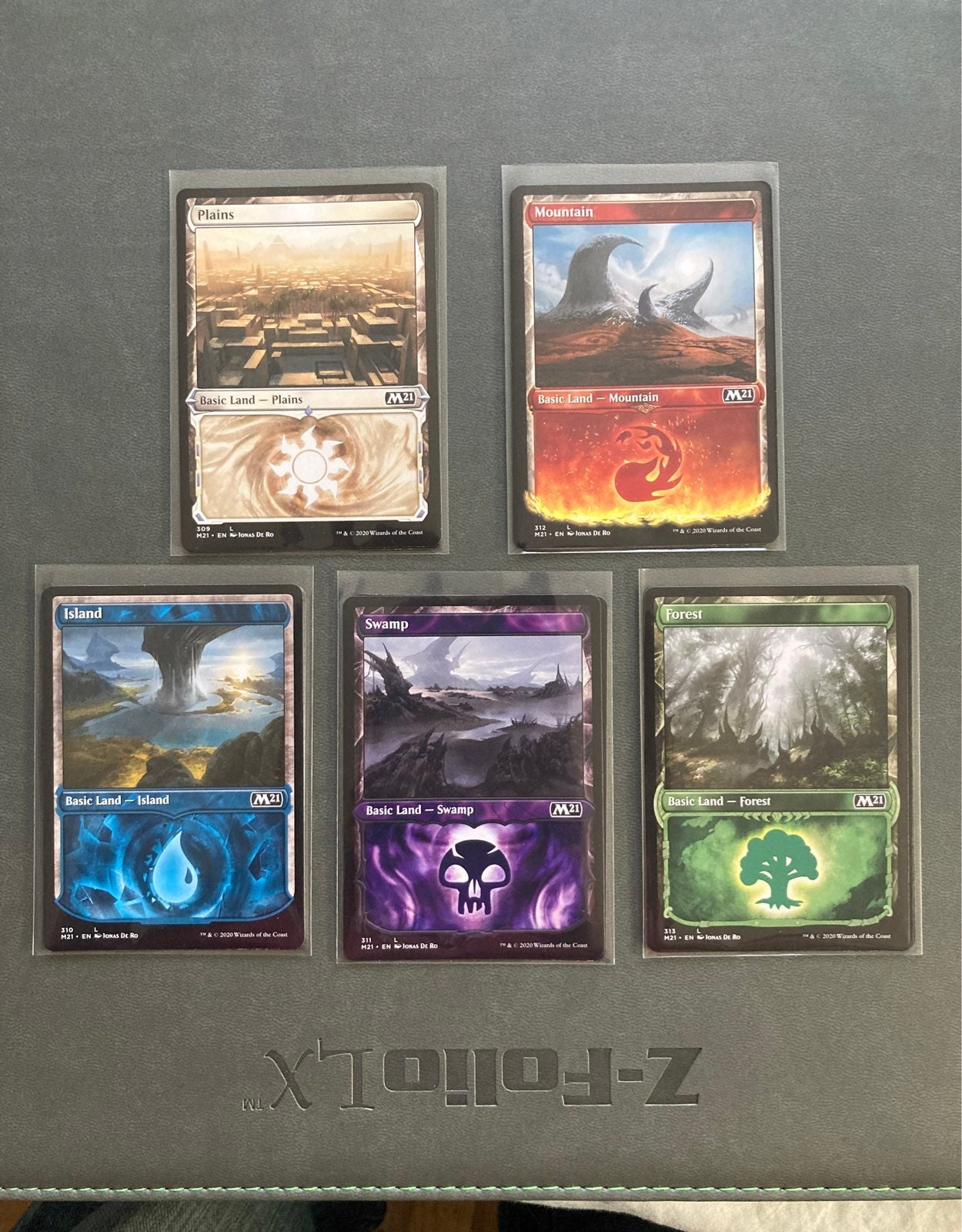 3 of each Showcase Non-Foil Only 2 Swamp