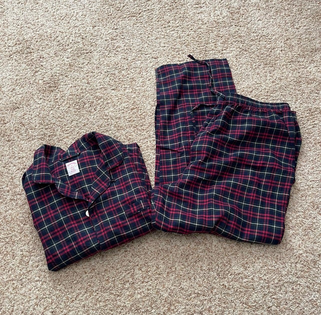 New Brooks brothers pajama set XL pjs