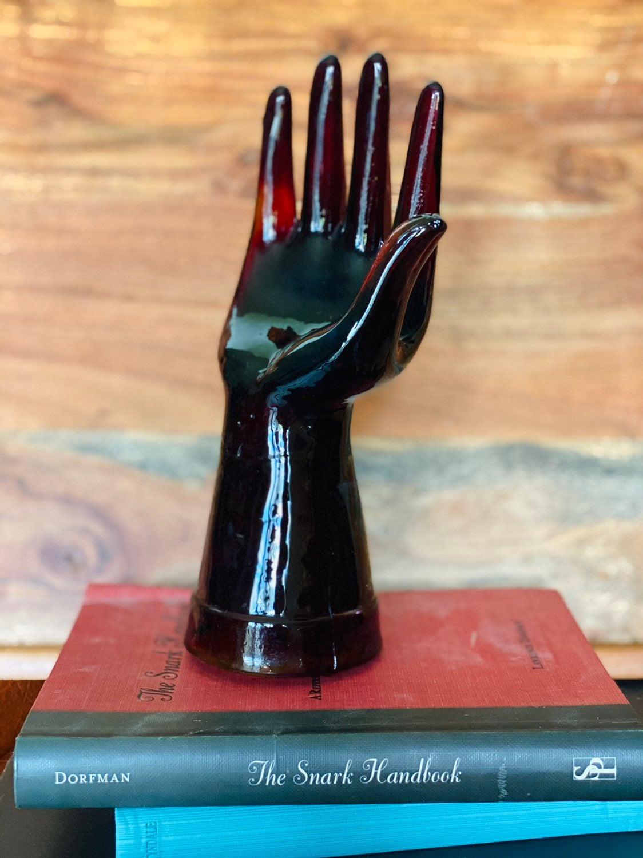 Vintage Glass Hand